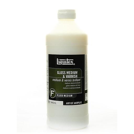 Liquitex Acrylic Gloss Medium  and  Varnish 32 oz.
