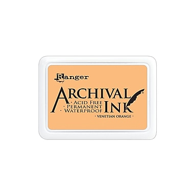 Ranger Archival Ink Venetian orange 2 1/2 in. x 3 3/4 in. pad [Pack of 3]