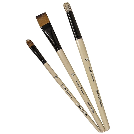 Robert Simmons Simply Simmons Value Brush Sets Special Effects Set Set Of 3