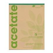 Grafix Matte Acetate Film Pads 0.005 14 in. x 17 in. pad of 25