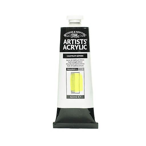 Winsor  and  Newton Professional Acrylic Colours cadmium lemon 60 ml 86