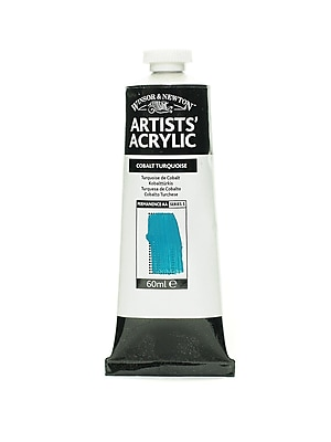 Winsor and Newton Professional Acrylic Colours cobalt turquoise 60 ml 190