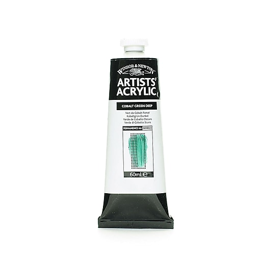 Winsor  and  Newton Professional Acrylic Colours cobalt green deep 60 ml 185