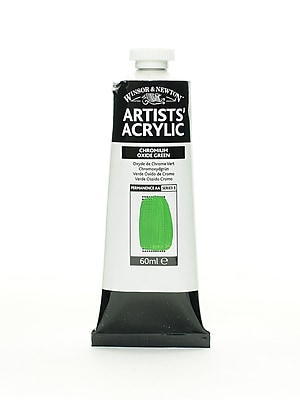 Winsor and Newton Professional Acrylic Colours chromium oxide green 60 ml 162