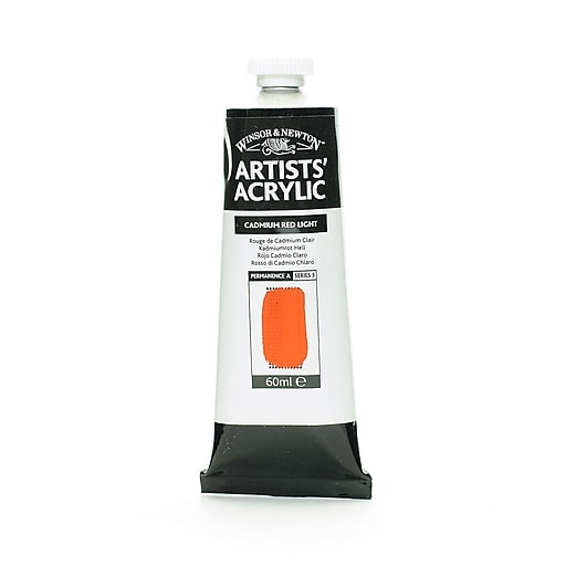 Winsor  and  Newton Professional Acrylic Colours cadmium red light 60 ml 100