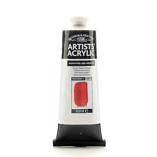 Winsor  and  Newton Professional Acrylic Colours naphthol red medium 60 ml 423