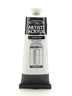 Winsor and Newton Professional Acrylic Colours mixing white 60 ml 415 [Pack of 2]
