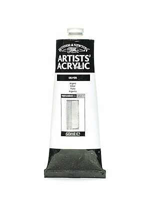 Winsor and Newton Professional Acrylic Colours silver 60 ml 617