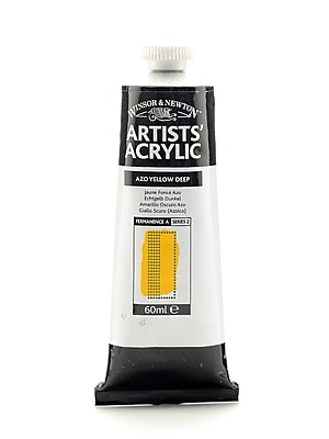 Winsor and Newton Professional Acrylic Colours azo yellow deep 60 ml 39