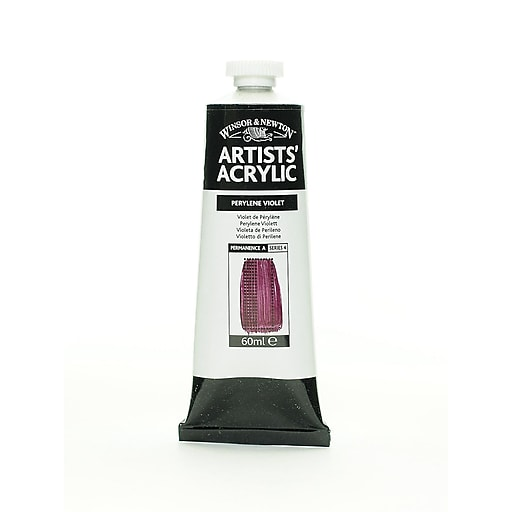 Winsor  and  Newton Professional Acrylic Colours perylene violet 60 ml 470