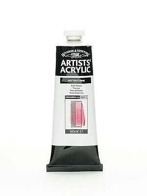 Winsor and Newton Professional Acrylic Colours potter's pink 60 ml 537