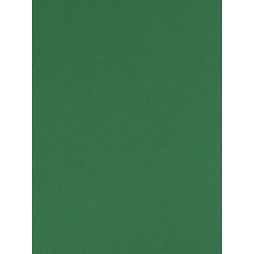 Canson Colorline 19in x 25in Moss Green 300 GSM Heavyweight Paper Sheets, 10/Pack (60461-PK10)