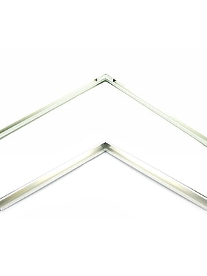 Nielsen Bainbridge Metal Frame Kit silver 17 in.