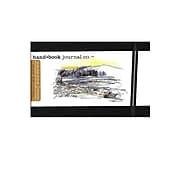 Hand Book Journal Co. Travelogue Drawing Journals 3 1/2 In. X 5 1/2 In. Landscape Ivory Black