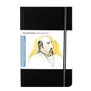Hand Book Journal Co. Travelogue Drawing Journals 5 1/2 In. X 8 1/4 In. Portrait Ivory Black [2Pk]