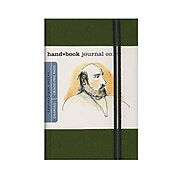 Hand Book Journal Co. Travelogue Drawing Journals 3 1/2 In. X 5 1/2 In. Portrait Cadmium Green