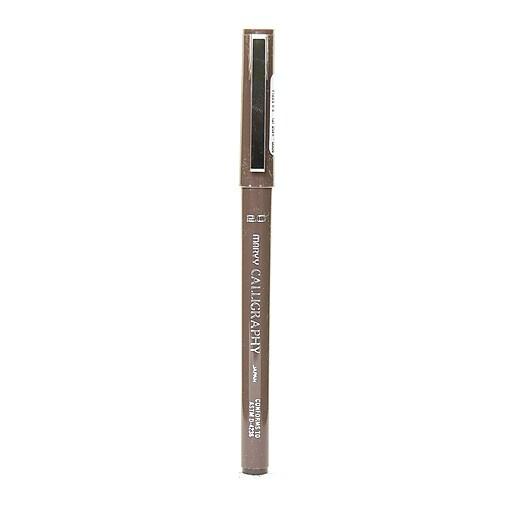 Marvy Uchida 6000 Calligraphy Pens, Sepia 2.0mm Fine, 12/Pack (22421-PK12)