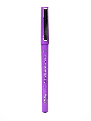 Marvy Uchida 6000 Calligraphy Pens, Violet 2.0mm Fine, 12/Pack (85207-PK12)