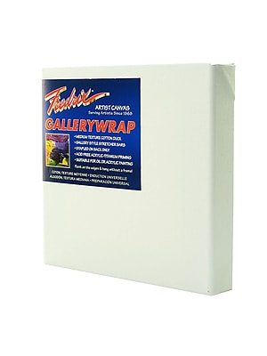 Fredrix Gallerywrap Stretched Canvas 10 in. x 10 in. each