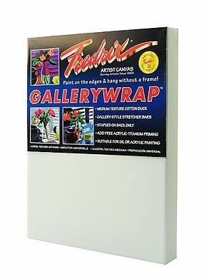 Fredrix Gallerywrap Stretched Canvas 8 in. x 10 in. each