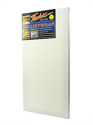 Fredrix Gallerywrap Stretched Canvas 10 in. x 20 in. each