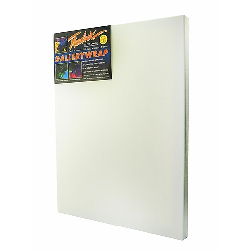 Fredrix Gallerywrap Stretched Canvas 18 in. x 24 in. each