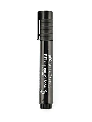 Faber-Castell Pitt Big Brush Artist Pens black 199 [Pack of 4]