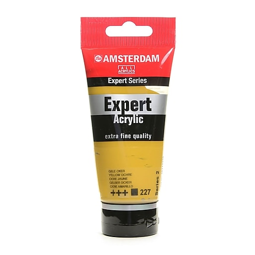 Amsterdam Expert Acrylic Tubes yellow ochre 75 ml [Pack of 3]