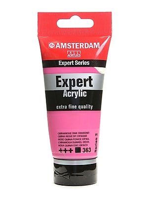 Amsterdam Expert Acrylic Tubes quina rose deep opaque 75 ml [Pack of 3]