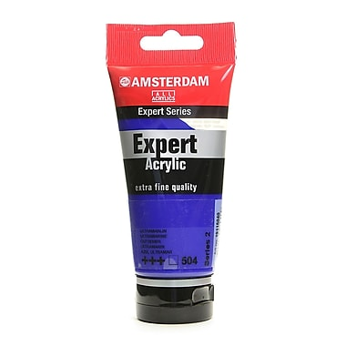 Amsterdam Expert Acrylic Tubes ultramarine 75 ml [Pack of 3]