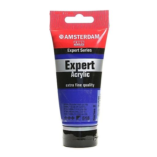 Amsterdam Expert Acrylic Tubes cobalt blue deep (ultramarine) 75 ml [Pack of 3]