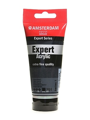Amsterdam Expert Acrylic Tubes ivory black 75 ml [Pack of 3]