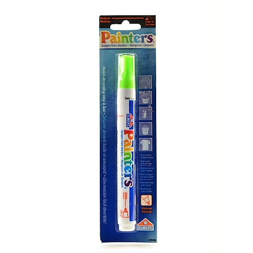 Elmer's Painters Markers each neon lime green [Pack of 6]