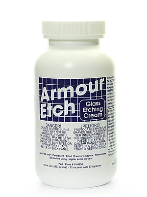 Armour 68500 Glass Etching Cream, 22Oz