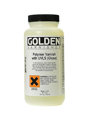 Golden Polymer Varnish with UVLS Gloss (15766)