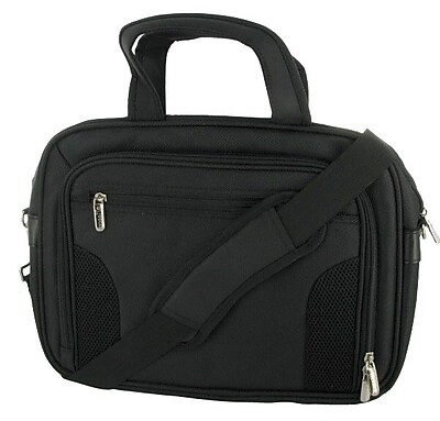 rOOCASE Deluxe Black Nylon Netbook Carrying Bag (RC-NHB-BG13-BK)