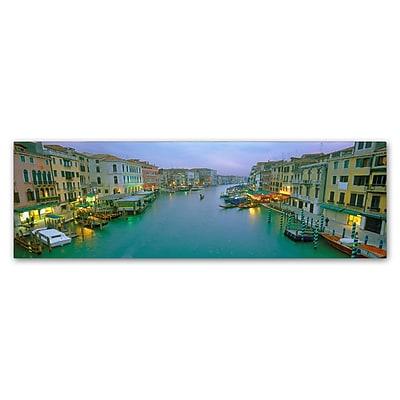 Trademark Fine Art John Xiong 'Venice at Dusk' 6 x 19 (ALI0642-C619GG)