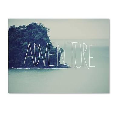 Trademark Fine Art Leah Flores 'Adventure Island' 24 x 32 (ALI0659-C2432GG)