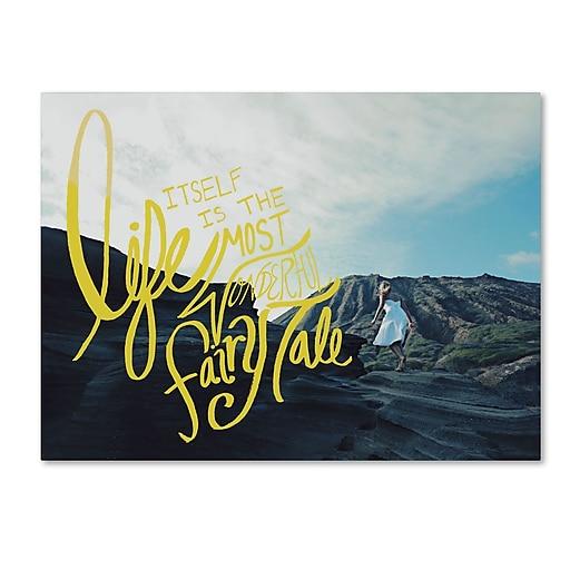 Trademark Fine Art Leah Flores 'Fairy Tale'  14 x 19 (ALI0667-C1419GG)