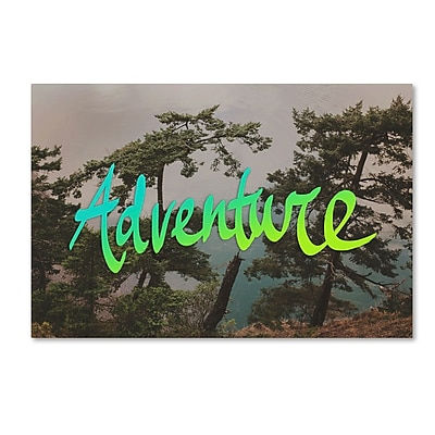 Trademark Fine Art Leah Flores 'Adventure (Whidbey Island)' 30 x 47 (ALI0680-C3047GG)