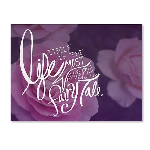 Trademark Fine Art Leah Flores 'Fairy Tale'  18 x 24 (ALI0686-C1824GG)