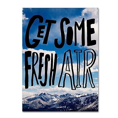 Trademark Fine Art Leah Flores 'Fresh Air' 35 x 47 (ALI0687-C3547GG)