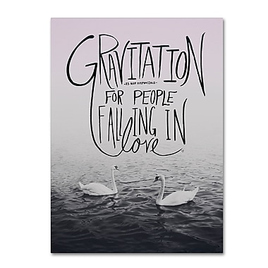 Trademark Fine Art Leah Flores 'Gravitation' 35 x 47 (ALI0689-C3547GG)