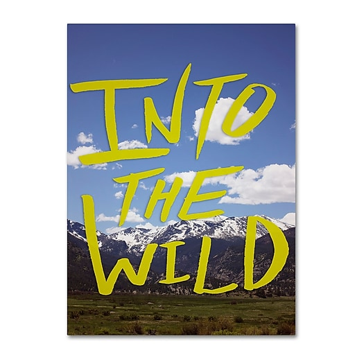 Trademark Fine Art Leah Flores 'Into the Wild, Colorado'  14 x 19 (ALI0692-C1419GG)