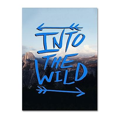 Trademark Fine Art Leah Flores 'Into the Wild, Yosemite' 35 x 47 (ALI0694-C3547GG)