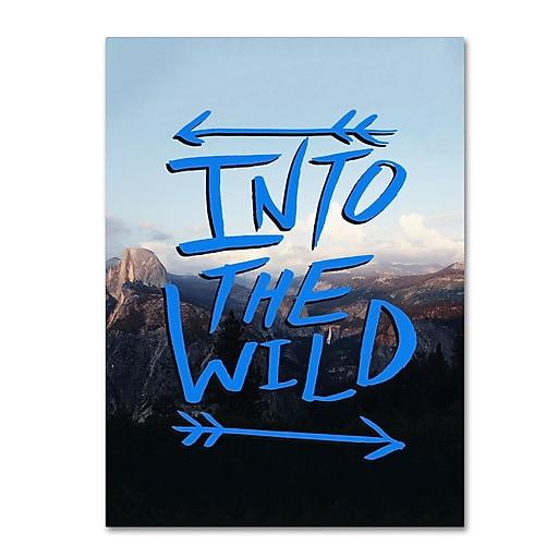 Trademark Fine Art Leah Flores 'Into the Wild, Yosemite'  14 x 19 (ALI0694-C1419GG)