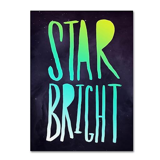 Trademark Fine Art Leah Flores 'Star Bright'  18 x 24 (ALI0709-C1824GG)