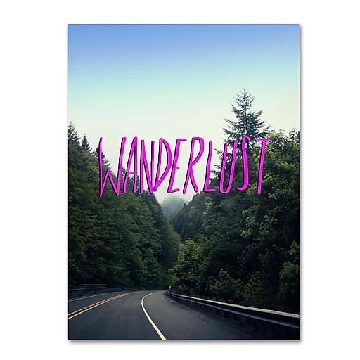 Trademark Fine Art Leah Flores 'Wanderlust Forest'  14 x 19 (ALI0713-C1419GG)
