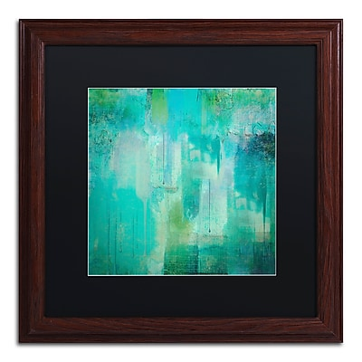 Trademark Fine Art Color Bakery 'Aqua Circumstance' 16 x 16 (886511699946)