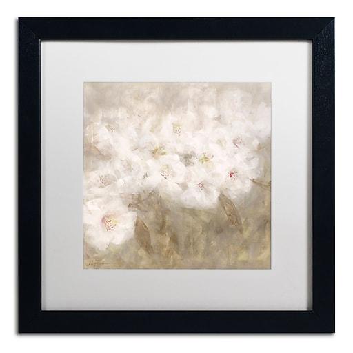 Trademark Fine Art Li Bo 'Wild Flowers I'  16 x 16 (ALI0750-B1616MF)